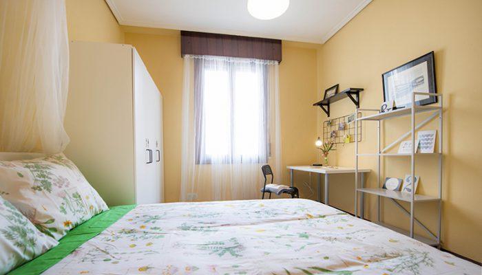 habitacion en piso compartido zona amezola, calle calixto díez